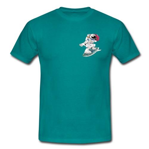 Astronauta Surfero - Camiseta hombre