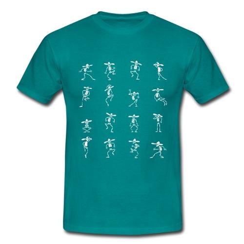 Skeleton Dance - Männer T-Shirt