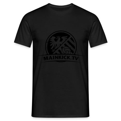 Mainkick_Schwarz_3200x240 - Männer T-Shirt