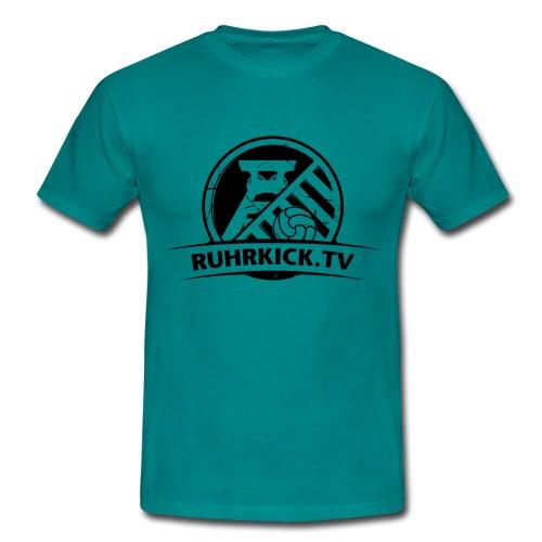 Ruhrkick_Schwarz_3200x240 - Männer T-Shirt