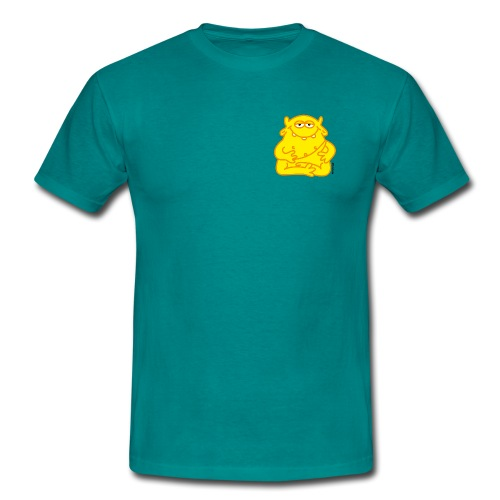 Happy Buddha - Männer T-Shirt