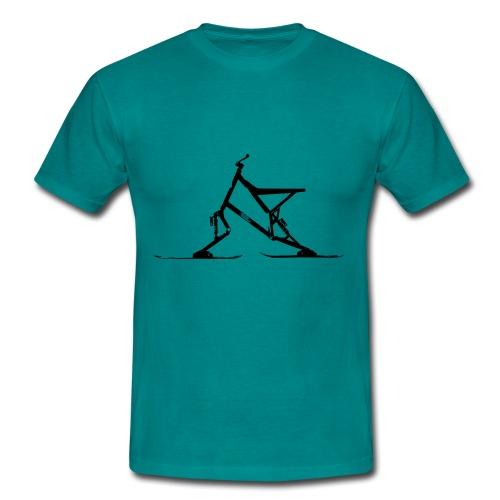 Skibike statisch - Männer T-Shirt