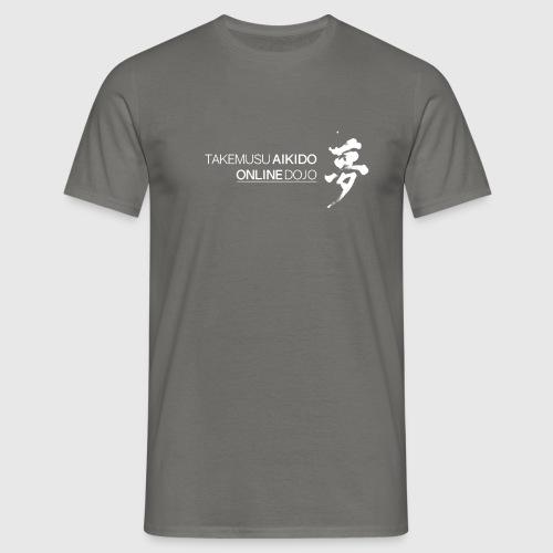 Takemusu Aikido Online Dojo - Yume White - Men's T-Shirt