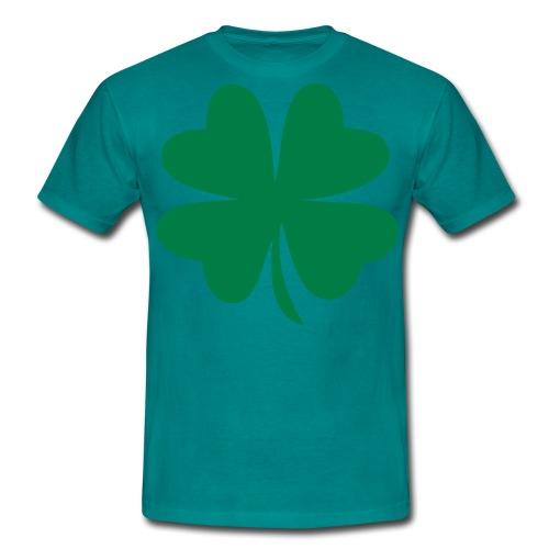 Svart luckyc T-skjorter - T-skjorte for menn