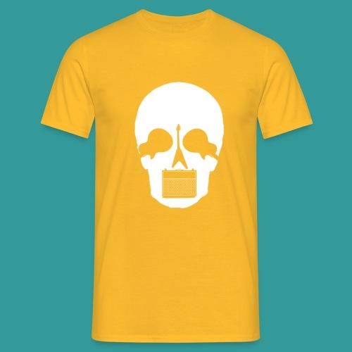 Guitar Skull - Men's T-Shirt
