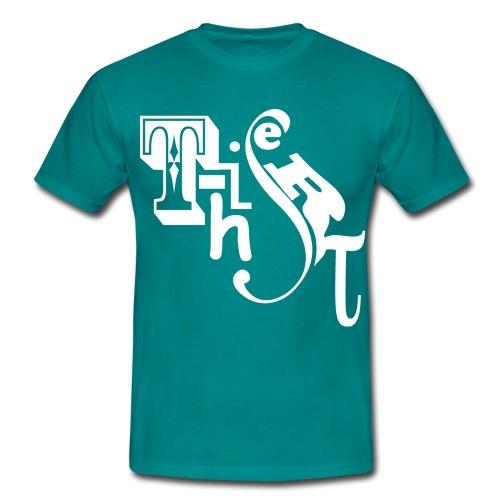 T-hisert vit - T-shirt herr
