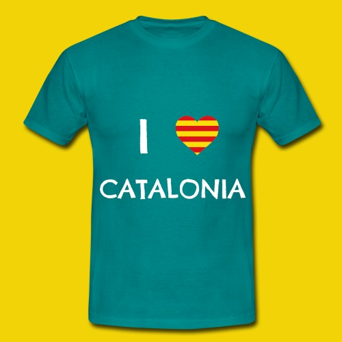 I Love Catalonia - Men's T-Shirt