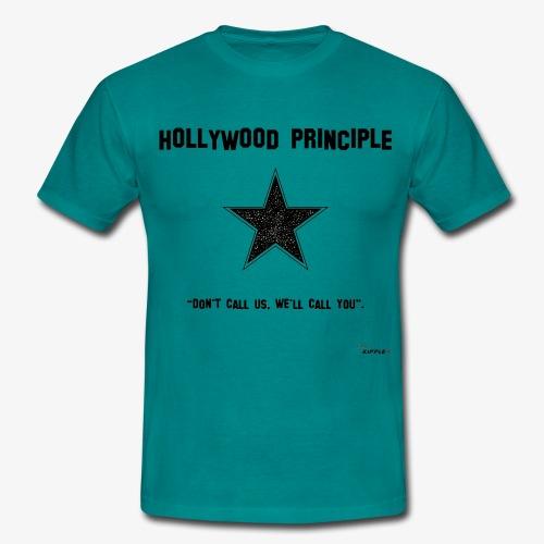 hollywood principle gif - Men's T-Shirt