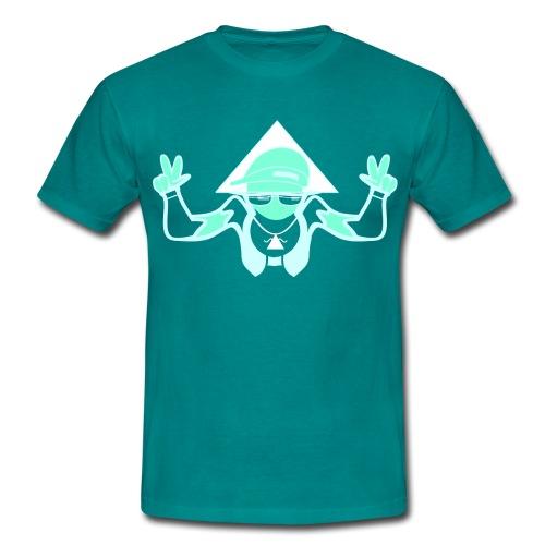ShruggerIndigo png - Männer T-Shirt