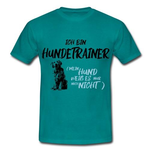 Ich bin Hundetrainer - Golden Retriever / Geschenk - Männer T-Shirt