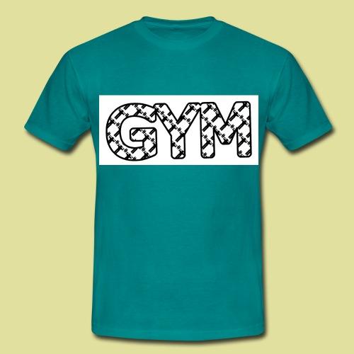 gym 987222 png - Männer T-Shirt
