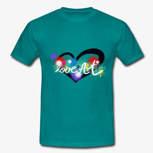 Love Art - Männer T-Shirt