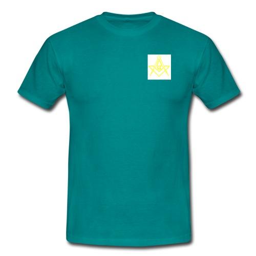 equerrecompas jaune g - T-shirt Homme