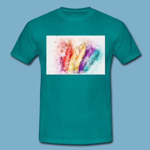 Federn - Männer T-Shirt