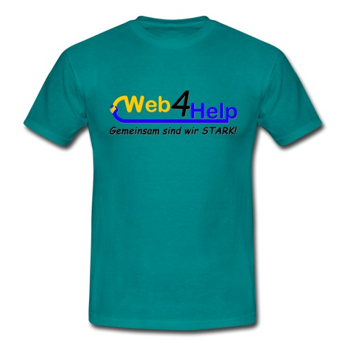 Web4Help - Männer T-Shirt