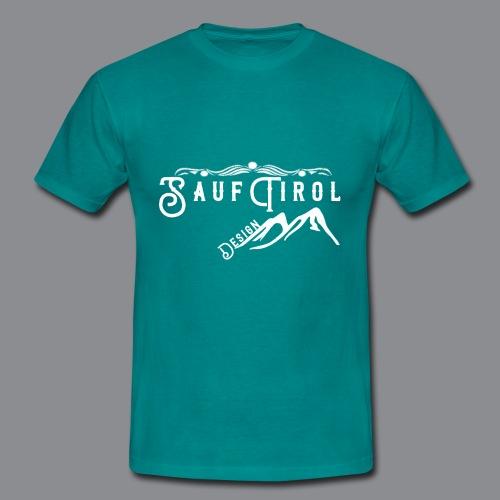 Sauftirol Weiss - Männer T-Shirt