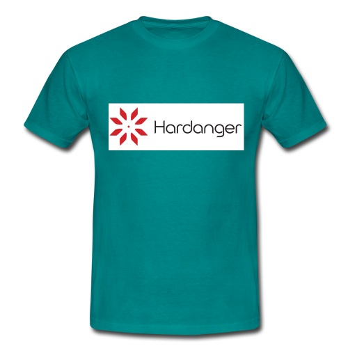 hardanger logo - T-skjorte for menn