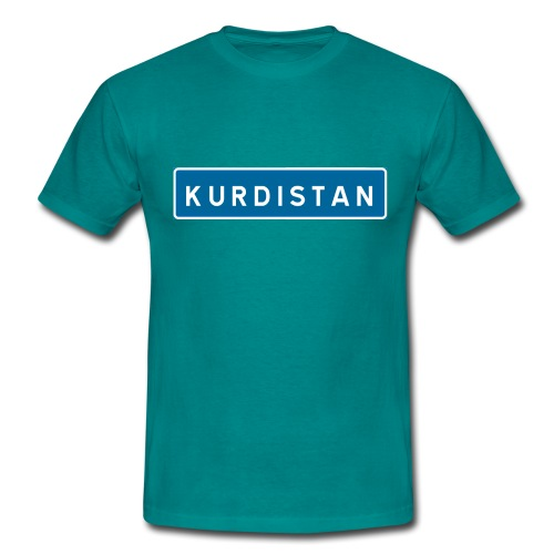 Kurdistanskylt - T-shirt herr
