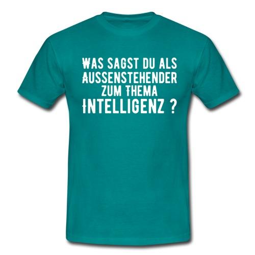 Thema Intelligenz - Männer T-Shirt
