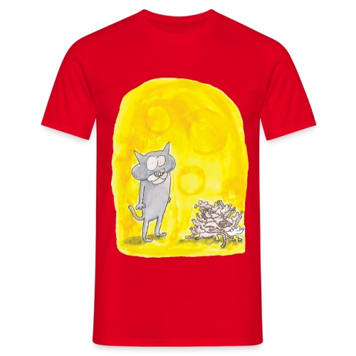 Le chat et les souris - T-shirt Homme
