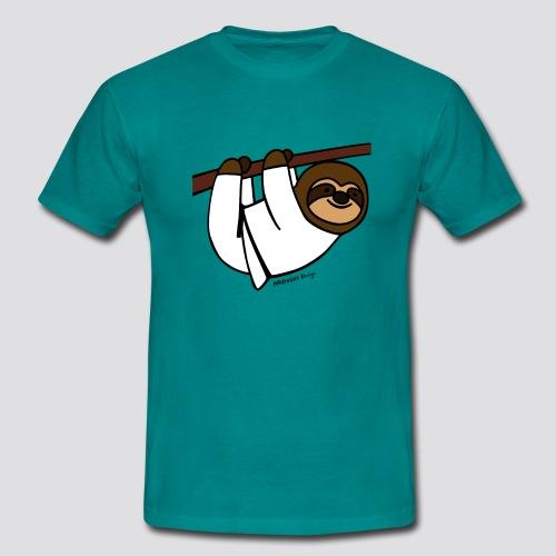 Luiaard - Mannen T-shirt