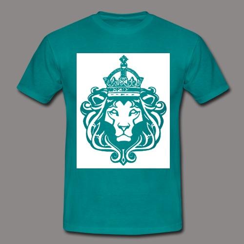 lion hollow png - Men's T-Shirt