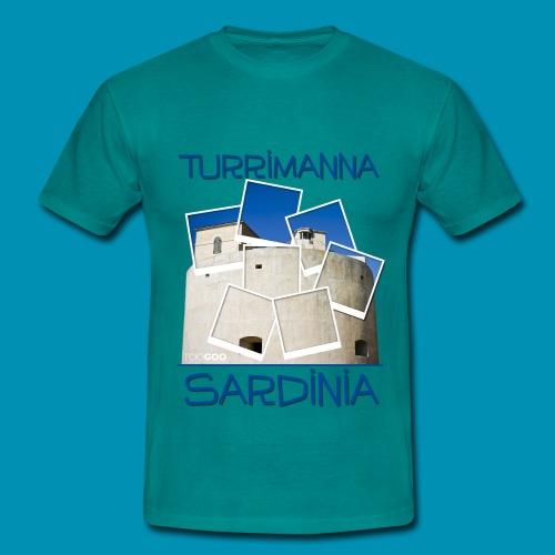 Torregrande polaroid 2015 png - Maglietta da uomo