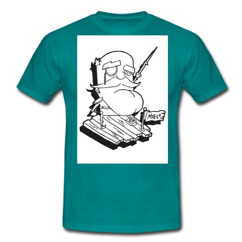 Captain jpg - Männer T-Shirt
