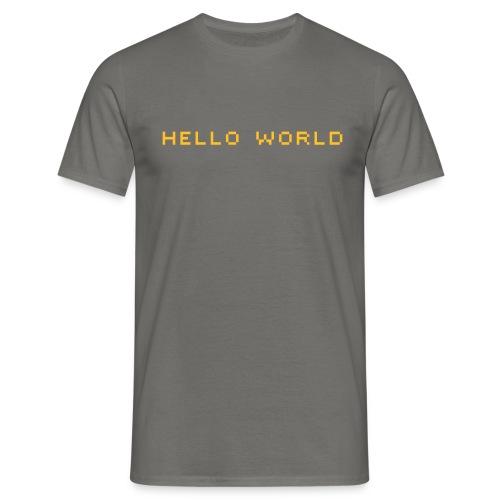 ibisdesigns helloworld vec - Men's T-Shirt