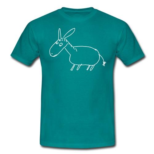 7000 ESEL S outline - Männer T-Shirt