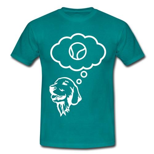 Mein Retreiver - Männer T-Shirt