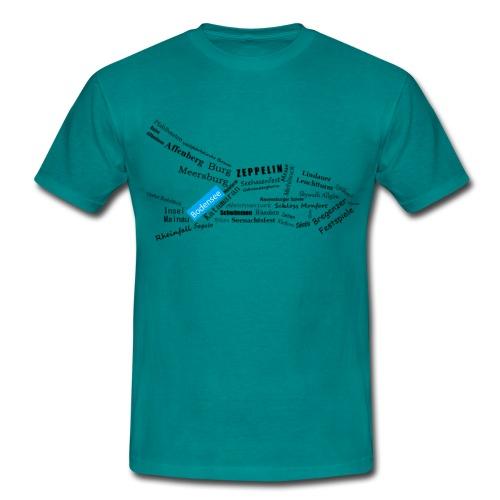 Neue Bodensee Kollektion von Danijel Köstlich - Männer T-Shirt