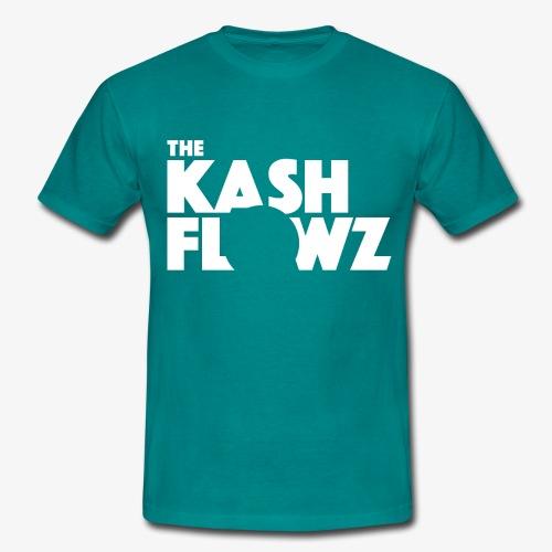 The Kash Flowz Official Logo White - T-shirt Homme