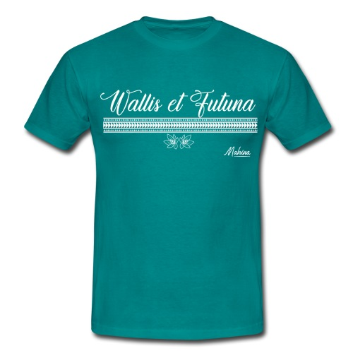 Wallis et Futuna en fleur - T-shirt Homme