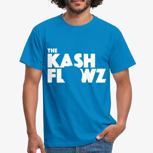The Kash Flowz Official Logo White - T-shirt Homme