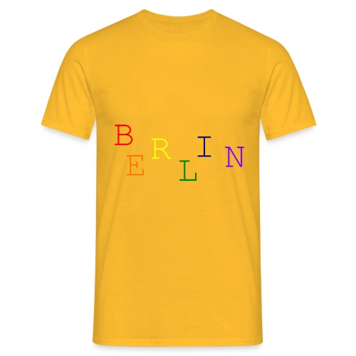 Berlin Rainbow #1 - Männer T-Shirt