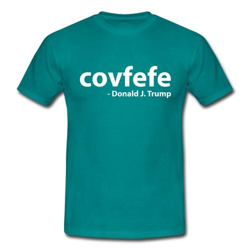 Covfefe - Donald J. Trump - Mannen T-shirt