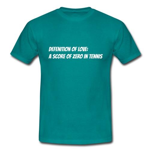 Tennis Love sweater woman - Mannen T-shirt