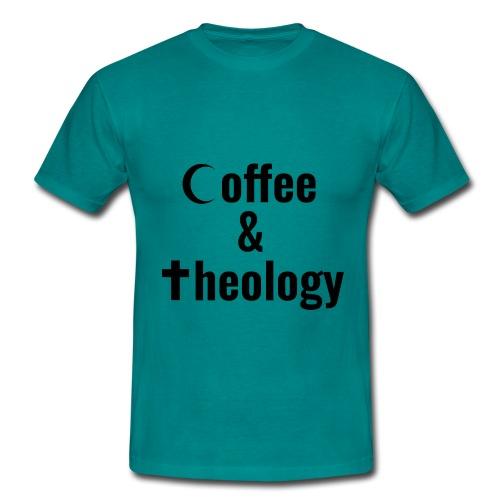 Coffee & Theology - Männer T-Shirt
