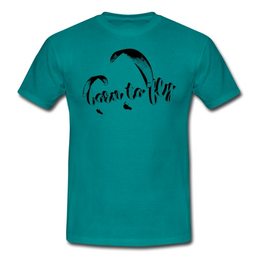 Born to fly - Männer T-Shirt