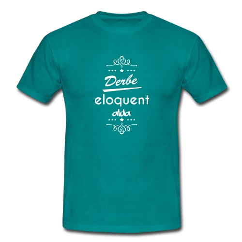 Derbe Eloquent Alda Weiß - Men's T-Shirt
