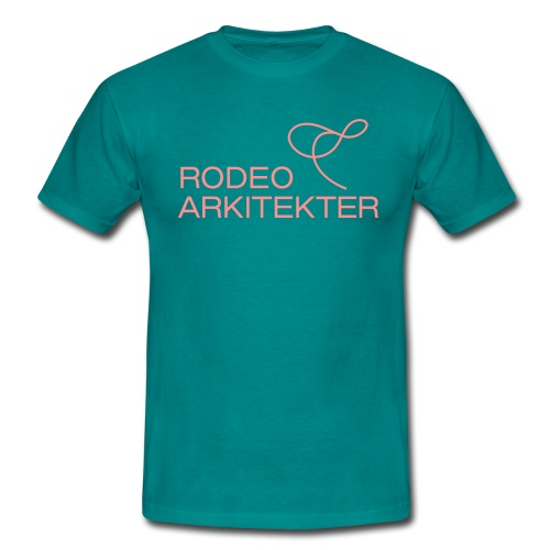 RODEO ARKITEKTER LOGO - T-skjorte for menn