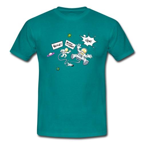 Husten wir haben ein Problem - Männer T-Shirt