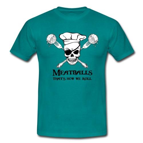 Meatballs - tinte chiare - Maglietta da uomo