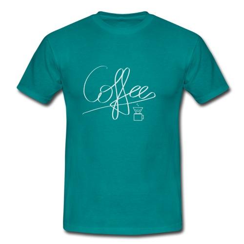Coffee - Männer T-Shirt