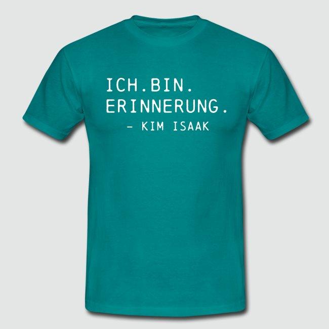 Ich bin Erinnerung - Kim Isaak - Ghostbox T-Shirts