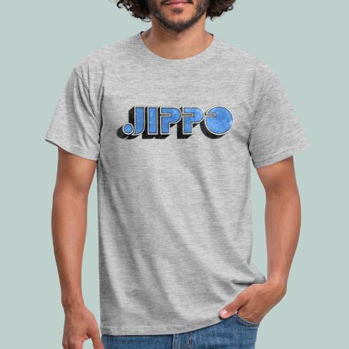 JIPPO LOGO (blue) - Miesten t-paita