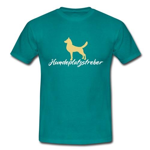 Hundeplatz-Streber / Hundeschule Design Geschenk - Männer T-Shirt