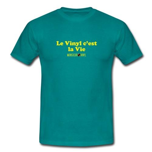 Collection Le Vinyl c'est la Vie - T-shirt Homme