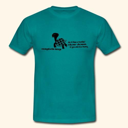 Schildkröte - Männer T-Shirt